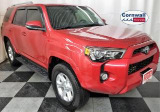 Used 2016 Toyota 4Runner SR5 - 4WD, sunroof, leather for sale in Cornwall, ON