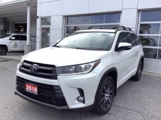 Used 2018 Toyota Highlander AWD XLE for sale in North Bay, ON