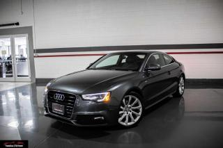 Used 2014 Audi A5 PROGRESSIV S-LINE  QUATTRO NO ACCIDENTS I NAVIGATION for sale in Mississauga, ON
