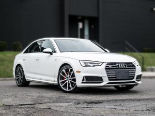 Used 2018 Audi S4 TECHNIK |DRIVING ASSIST|VIRTUAL COCKPIT|RED INTERIOR for sale in North York, ON