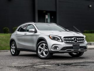 Used 2018 Mercedes-Benz GLA GLA 250  BACKUP PANORAMIC ROOF  B.SPOT  HEATED SEATS   for sale in North York, ON