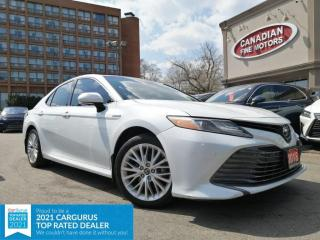 Used 2018 Toyota Camry HYBRID HYBRID | LEATHER | ROOF | NAVI | CAM | 4 NEW SNOW TIRES* for sale in Scarborough, ON