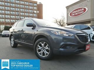 Used 2015 Mazda CX-9 7 PASS | NAVI | BACK UP CAM | BLUE TOOTH | 4 NEW SNOW TIRES* for sale in Scarborough, ON