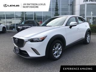 Used 2016 Mazda CX-3 GS FWD at / Luxury Package / Skyactive / One Owner for sale in North Vancouver, BC