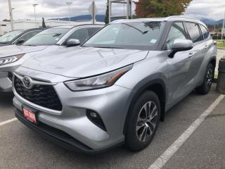 New 2021 Toyota Highlander XLE for sale in North Vancouver, BC