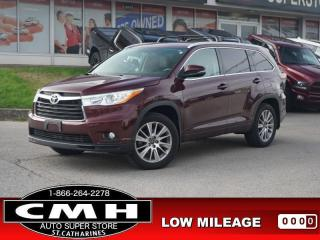 Used 2016 Toyota Highlander XLE  NAV ROOF HTD-SEATS P/GATE 19-AL for sale in St. Catharines, ON
