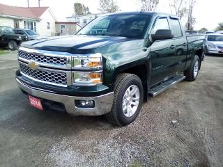 Used 2014 Chevrolet Silverado 1500 1LT Double Cab 4WD for sale in Leamington, ON