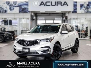 Used 2019 Acura RDX Platinum Élite for sale in Maple, ON