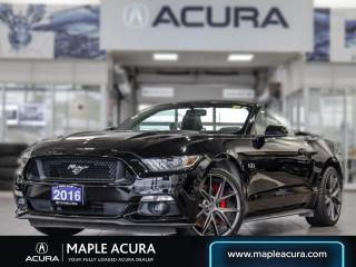Used 2016 Ford Mustang GT Premium for sale in Maple, ON