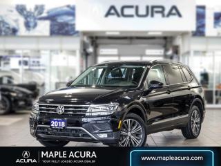 Used 2018 Volkswagen Tiguan Highline 4MOTION for sale in Maple, ON