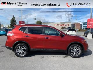 Used 2015 Nissan Rogue SL  - Sunroof -  Leather Seats for sale in Ottawa, ON