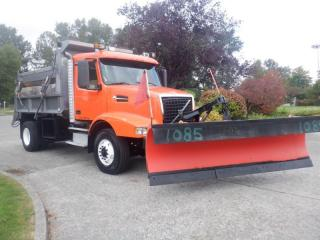 Used 2002 Volvo VHD Dump Truck with Spreader With Air Brake And Front Plow  Diesel for sale in Burnaby, BC