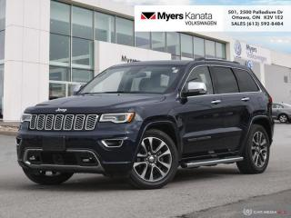 Used 2018 Jeep Grand Cherokee Overland  - Navigation for sale in Kanata, ON