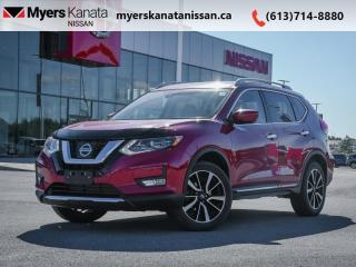 Used 2017 Nissan Rogue SL Platinum  - Sunroof -  Navigation for sale in Kanata, ON