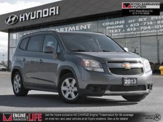 Used 2013 Chevrolet Orlando LT  - SiriusXM -  OnStar - $107 B/W for sale in Nepean, ON