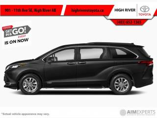 New 2021 Toyota Sienna XLE 7-Passenger AWD  - Sunroof for sale in High River, AB