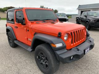 Used 2018 Jeep Wrangler SPORT for sale in Petrolia, ON