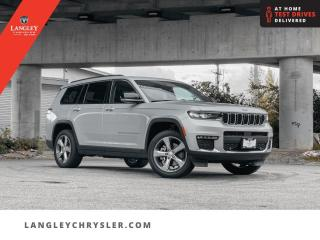 New 2021 Jeep Grand Cherokee L Limited  - Leather Seats for sale in Surrey, BC