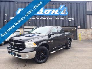 Used 2017 RAM 1500 Outdoorsman Crew Cab 5.7 Hemi V8 4x4 - Navigaton,  RamBox Cargo Management, Heated Seats & Much More for sale in Guelph, ON