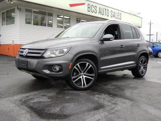 Used 2017 Volkswagen Tiguan R-LINE for sale in Vancouver, BC
