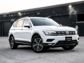 Used 2018 Volkswagen Tiguan 7Pass I Highline I 4Motion I Drive Ass I No accid for sale in Toronto, ON