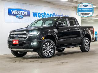 Used 2019 Ford Ranger Lariat+CAMERA+ADAPTIVE CRUISE CONTROL+TRAILER TOW PACKAGE+LEATHER for sale in Toronto, ON