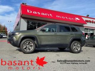 Used 2019 Jeep Cherokee Trailhawk, Leather, Backup Cam, V6, Low KMs!! for sale in Surrey, BC
