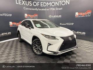 Used 2018 Lexus RX 350 F Sport SERIES 2 for sale in Edmonton, AB