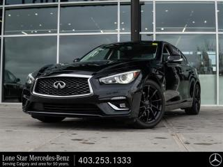 Used 2018 Infiniti Q50 3.0T Sport AWD for sale in Calgary, AB