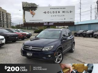 Used 2017 Volkswagen Tiguan Highline for sale in North York, ON