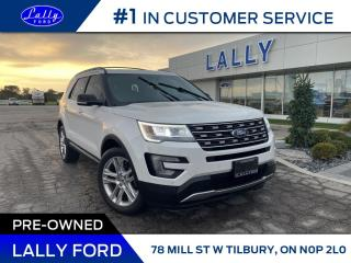 Used 2017 Ford Explorer XLT, Moonroof, Nav, AWD, Leather! for sale in Tilbury, ON