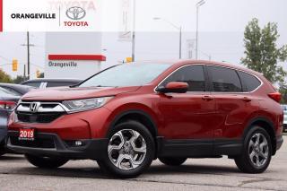 Used 2019 Honda CR-V EX, AWD, HEATED SEATS, SUNROOF, ANDROID AUTO, APPLE CARPLAY, LANE KEEPING ASSIST for sale in Orangeville, ON