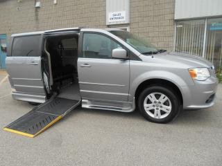 Used 2014 Dodge Grand Caravan Crew-Wheelchair Accessible Side Entry-Power for sale in London, ON