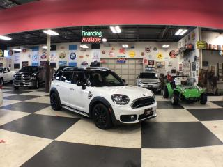 Used 2018 MINI Cooper Countryman S E AUT0 AWD NAVI LEATHER PANO/ROOF CAMERA P/TRUNK for sale in North York, ON