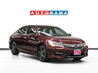 Used 2017 Honda Accord Touring Navi Leather SunRoof BackUp Heated Seats for sale in Toronto, ON