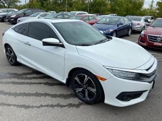 Used 2017 Honda Civic Coupe Touring ** NAV, BACK CAM , AUTOSTART  ** for sale in St Catharines, ON