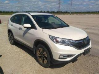 Used 2015 Honda CR-V Touring AWD for sale in Waterloo, ON
