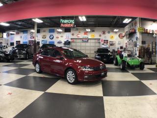 Used 2017 Volkswagen Jetta 1.4 TSI WOLFSBURG EDITION AUT0 SUNROOF CAMERA PUSH for sale in North York, ON