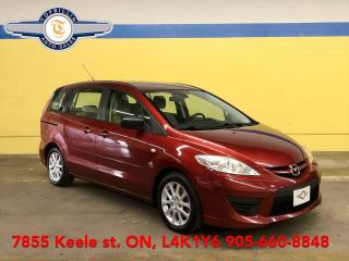 Used 2008 Mazda MAZDA5 GS Auto, 2 Years Powertrain Warranty for sale in Vaughan, ON