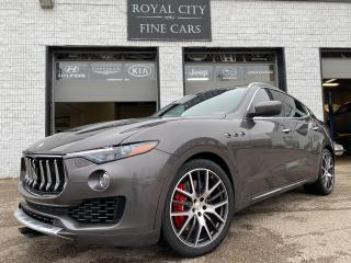 Used 2017 Maserati Levante S Twin Turbo 424HP/ Clean Carfax/ Red Leather for sale in Guelph, ON
