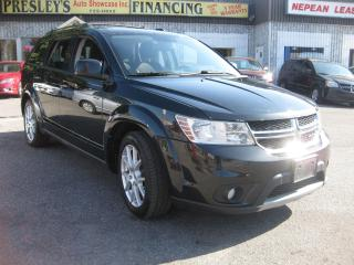 Used 2012 Dodge Journey Crew 7 pass AC Bluetooth Nav Rev Cam Htd Seat for sale in Ottawa, ON