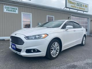 Used 2014 Ford Fusion SE for sale in Tilbury, ON