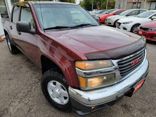 Used 2007 GMC Canyon SLE Z85/4X4/CREW CAB/LOADED/ALLOYS for sale in Scarborough, ON