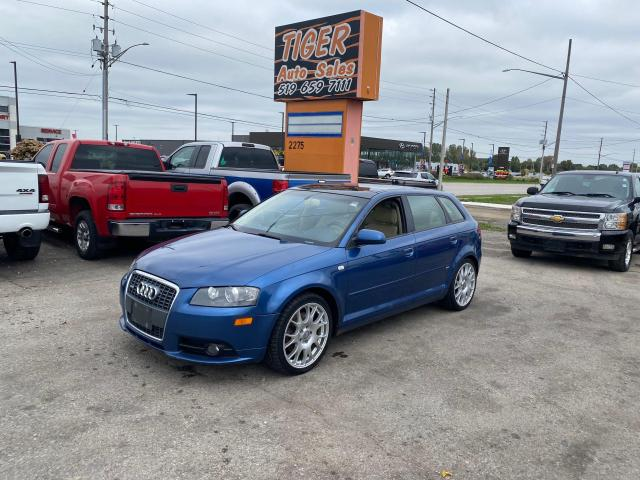 2007 Audi A3 S-Line*QUATTRO*AWD*3.2L V6*AS IS SPECIAL