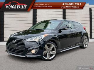 Used 2013 Hyundai Veloster Turbo w/Tech Pkg! 6MT for sale in Scarborough, ON