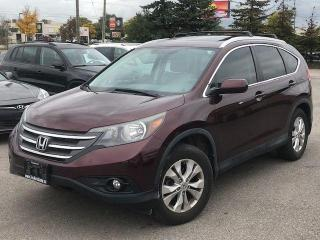 Used 2014 Honda CR-V EX-L for sale in Bolton, ON