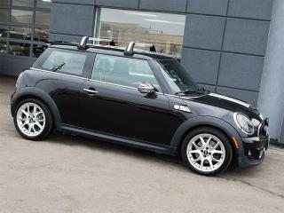 Used 2011 MINI Cooper S|LEATHER|PANOROOF|ALLOYS|ROOF RACK for sale in Toronto, ON
