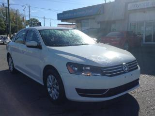 Used 2014 Volkswagen Passat 2.5L Trendline ALLOYS. HEATED SEATS. A/C. POWER GROUP. for sale in Kingston, ON
