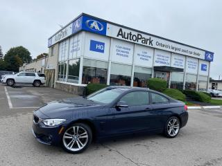 Used 2015 BMW 428i i xDrive NAV | SUNROOF | MEMORY SEAT | LEATHER SEATS | for sale in Brampton, ON