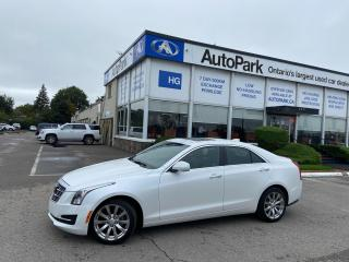Used 2018 Cadillac ATS 2.0L Turbo Luxury SUNROOF | REAR CAMERA | HEATED SEATS | LEATHER SEATS | for sale in Brampton, ON